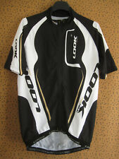 Maillot cycliste LOOK Team pro Noir et blanc polyester Jersey cycling - M