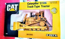 "Caterpillar Ertl #2436 ""CAT"" D10N Track Type Tractor 1/50 ages 3 up new in box"