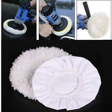 2 Pcs Polishing Bonnet Buffer Polishing Pad For 8inch & 9inch Car Polisher