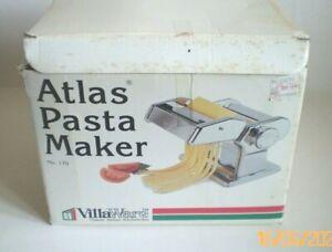 Vintage Villa Ware  Atlas Stainless Pasta Noodle Maker Machine 170 Italy