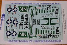 Microscale Decal 1:48 Scale #MS48-1006 / Douglas AD-6 (A-1H) Skyraiders: VA-65 &