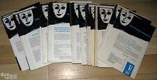 Kryolan GmbH Lebendige Maske Hauszeitschrift für Maskenbildner 1969-1993