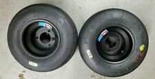 Go Kart Wheels and Tires, Pair, Optional Wheel Hubs, New Wheels Used Tires