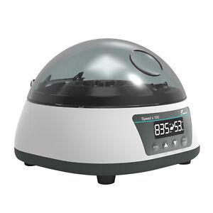 Digital Lab Microcentrifuge Machine High speed PRP Centrifuge w/ Timer 7000rpm