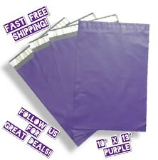 75 Purple 10x13 Designer Poly Mailers Boutique Shipping Bags Envelopes