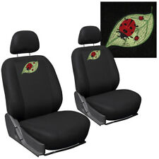 Car Seat Covers for Kia Soul Beetle Ladybug with w/Detachable Head Rests