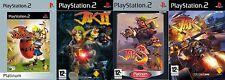 jak and daxter  1,2,3, & x       PS2  PAL FORMAT