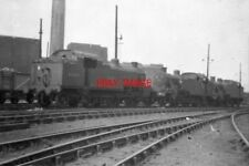 PHOTO  1959 WILLESDEN LOCOMOTIVE SHEDS THE OLD STEAM SHED AT WILLESDEN BORDERED