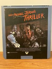 Making Of Michael Jackson's Thriller CED Selectavision Videodisc RCA Collectible