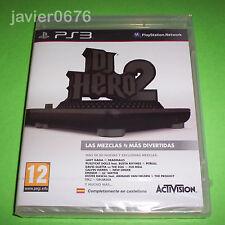 DJ HERO 2 NUEVO Y PRECINTADO PAL ESPAÑA PLAYSTATION 3