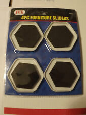 4pc Furniture Sliders_Magic Carpet Ride_Effortless Ease_You Can Do It! NEW