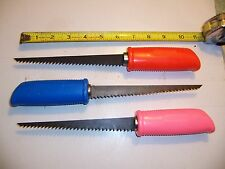 "YOU GET (1 )  11"" DRYWALL  WALLBOARD SAW  6"" BLADE NICE QUALITY  COLOR MAY VARY"