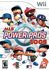 Major League Baseball Power Pros 2008 WII New Nintendo Wii