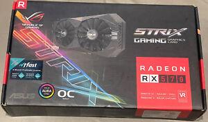 ASUS AMD Radeon RX 570 ROG STRIX OC Graphics Card 4GB GDDR5 1300MHz RGB #A