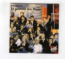 CD SINGLE PROMO (NEUF) LES ENFOIRES LE POUVOIR DES FLEURS ZAZIE FIORI KAAS