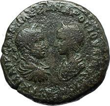 SEVERUS ALEXANDER & JULIA MAESA Marcianopolis Ancient Roman Coin DEMETER i66125