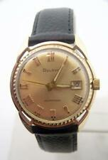 Vintage 10k GF BULOVA Mens Automatic Watch Cal 11ALCD c.1960 EXLNT SERVICED