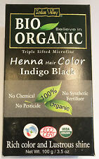 Indus Valley 103ml Henna Hair Color - Black