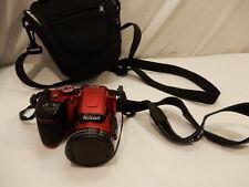 Nikon COOLPIX B500 16.0MP Digital Camera - Red ~!