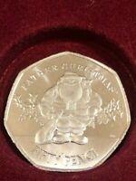 🎅 2019 GIBRALTAR 50p Fifty Pence Father Santa Claus CHRISTMAS XMAS Unc Coin 🎅