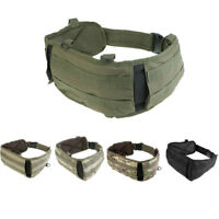 Tactical Battle Belt MOLLE Patrol Duty Waist Belt for Hunting Outdoor Sports