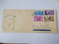 GVI 1948 Olympic Games Set Illustrated First Day Cover - Olympic Games Cancel