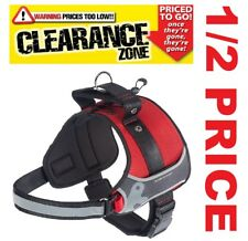 CLEARANCE FERPLAST - Hercules LARGE Professional Use Dog Harness RED 1/2 PRICE