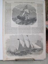 Vintage Print,LIVERPOOL PILOT,Ballous,1850s,Marine