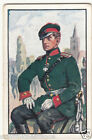 Lieutenant Pommersches Jäger 1866 Deutsches Heer Germany Uniform IMAGE CARD 30s