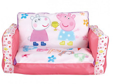 Peppa Pig Inflatable Kids Mini Sofa and Flip out Lounger