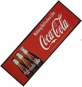 Coca Cola Three Bottles Bar Wetstop Runner  900mm x 240mm   (pp)