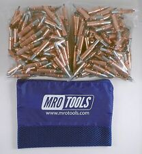 200 1/8 Cleco Sheet Metal Fasteners w/ Mesh Carry Bag (K2S200-1/8)