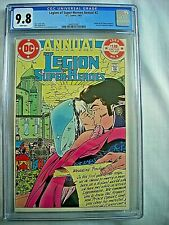 DC LEGION OF SUPER-HEROES ANNUAL #2 CGC 9.8 NM/MT White Pages 1983 1 of 5