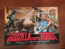 fotobusta 1974,GODZILLA CONTRO I ROBOT,Gojira tai Mekagojira,Jun Fukuda,SCI FI