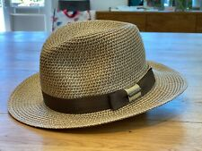 Stetson Toyo Straw Traveller Fedora Hat S-XL - Unisex - RRP £79 FREE UK Delivery