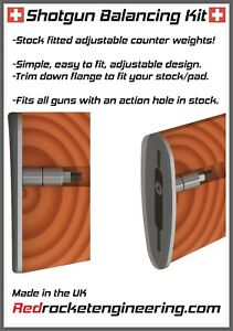 Shotgun Stock Weights Balance Balancing Beretta Browning miroku