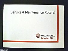 Vauxhall CORSA D From 2006 Service Book History Record Brand New No Stamps