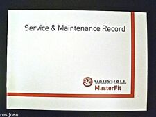 Vauxhall CORSA C From 2000 Service Book History Record B Brand New