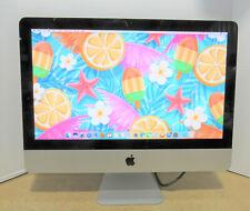 "Apple iMac A1311 21.5"" 2.7GHz i5-2500S 8GB RAM 1TB HD OS 10.12 CRACKED TOP GLASS"