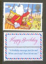 Rupert the Bear mnh-Great Britain-Animation-Cartoons-single value + tab