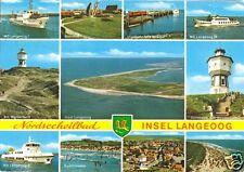 Ak, Nordseebad isla Langeoog, once figs. para 1975