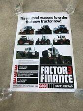 David Brown/Case International Tractor 1190 to 4690 Poster Brochure Leaflet