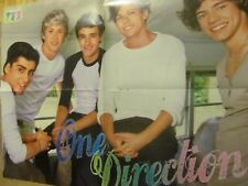 One Direction, Selena Gomez, Double Four Page Foldout Poster