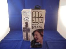 Tzumi Pop Solo Bluetooth Professional Karaoke Microphone Mixer 4901 B - New