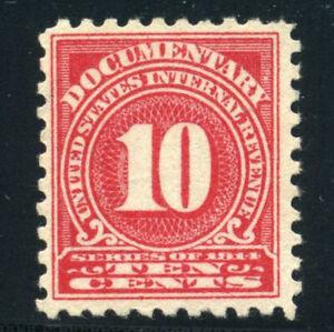US Stamp Scott R201 Documentary Revenue 1914 Issue MNG B530 6