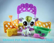 Littlest Pet Shop '07 White COW w/Stars lot #783 Super Rare! Retired BRAND NEW!