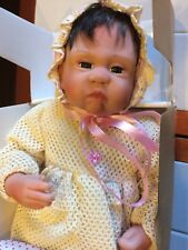 """Treasury collection Paradise Galleries """"Avery """" infant doll"""