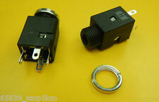 "10PCS 3.5mm 1/8"" 4pin Female Headphone Jack Plug Stereo Audio Panel Mount"