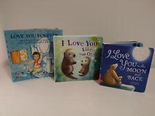 Lot of (3) I love You- Children's Books. (2) Hardbacks. (1) Paperback
