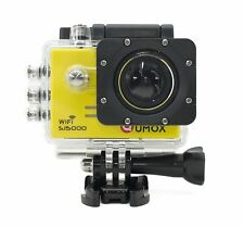 Qumox SJ5000 Wifi Sports Helmet Action Camera 1080P 720P 60fps Camcorder yellow